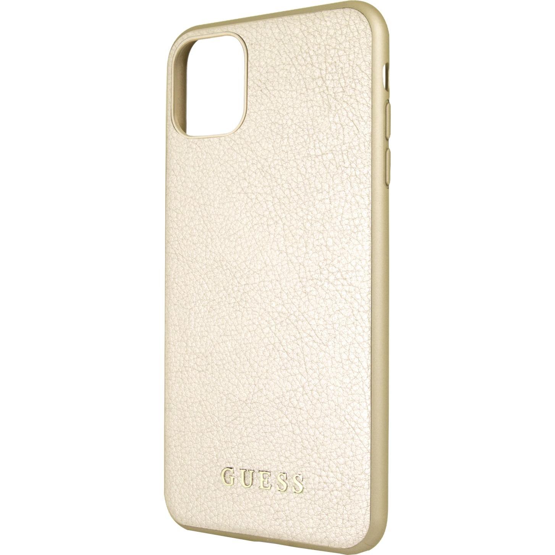 Fotografie Husa de protectie Guess Iridescent pentru iPhone 11 Pro Max, GUHCN65IGLGO, Gold