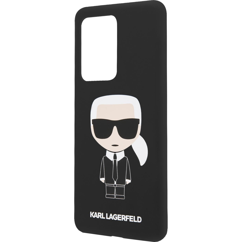 Fotografie Husa de protectie Karl Lagerfeld Full Body pentru Samsung Galaxy S20 Ultra, KLHCS69SLFKBK, Black