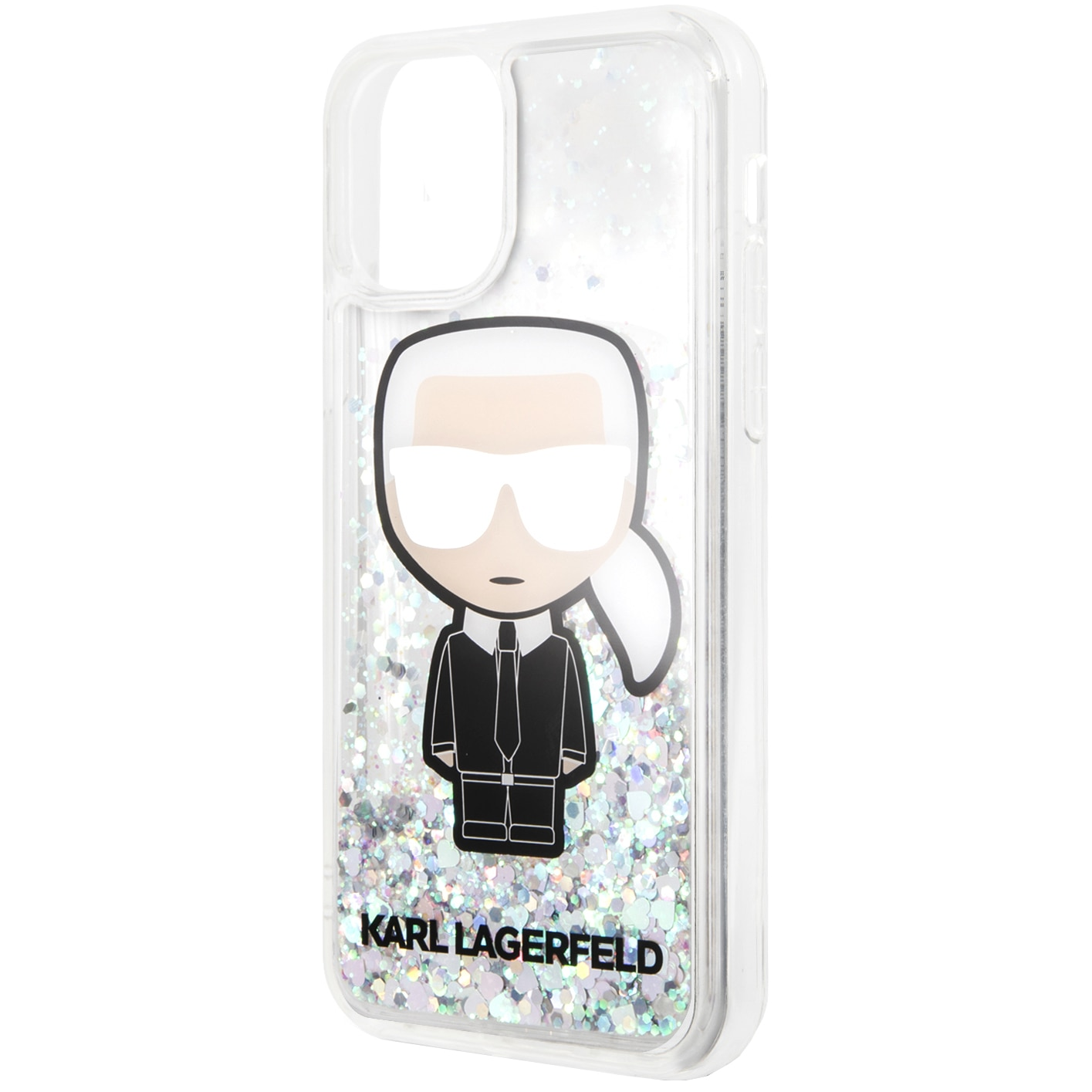 Fotografie Husa de protectie Karl Lagerfeld Glitter Iridescente pentru iPhone 11 Pro, KLHCN58LGIRKL, Clear