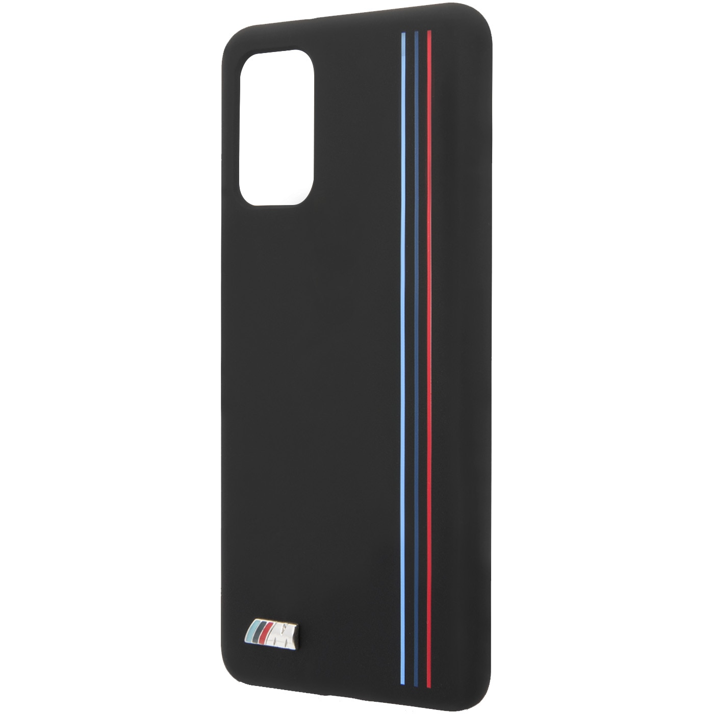 Fotografie Husa de protectie BMW Silicone Stripes M Collection BMHCS67SIVTBK pentru Samsung Galaxy S20 Plus, Black