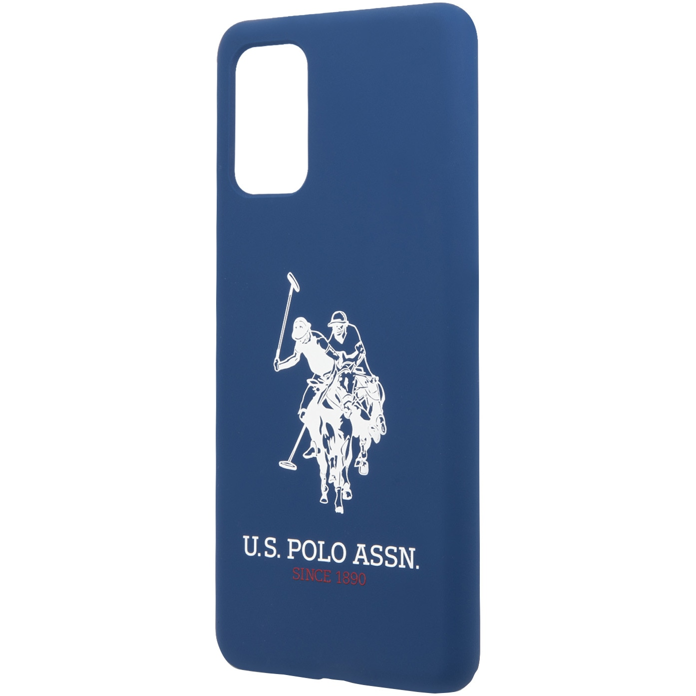 Fotografie Husa de protectie US Polo Silicone pentru Samsung Galaxy S20 Plus, Blue
