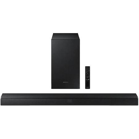 Soundbar Samsung HW-T530, 2.1 канала, 290W, Wireless Subwoofer, Bluetooth Multi Connection