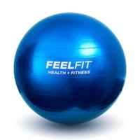 Фитнес гимнастическа топка за упражнения Feel Fit, 65 cm, син