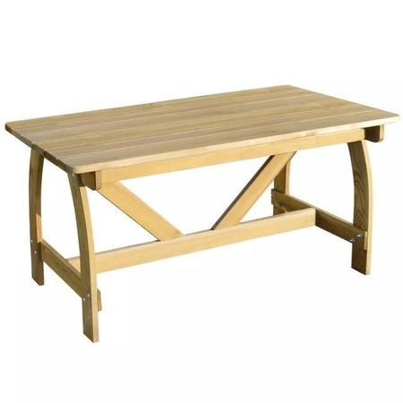Masa de gradina din lemn de pin tratat