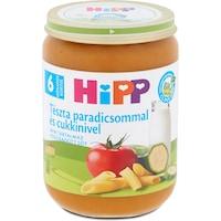 Hipp Bébiétel tészta paradicsom és cukkini ízesítéssel, 6 hónapos kortól, 190 g