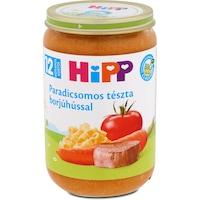 Hipp Bébiétel paradicsomos tészta borjúhús ízesítéssel, 12 hónapos kortól, 220 g