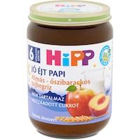Hipp Jó Éjt Papi almás-őszibarackos tejbegríz, 6 hónapos kortól, 190 g
