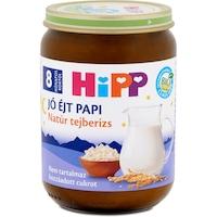 Hipp Jó Éjt Papi natúr tejberizs, 8 hónapos kortól, 190 g