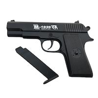 Pistol Airsoft Gun Metalic Spring S3, 300 bile, FOXMAG24