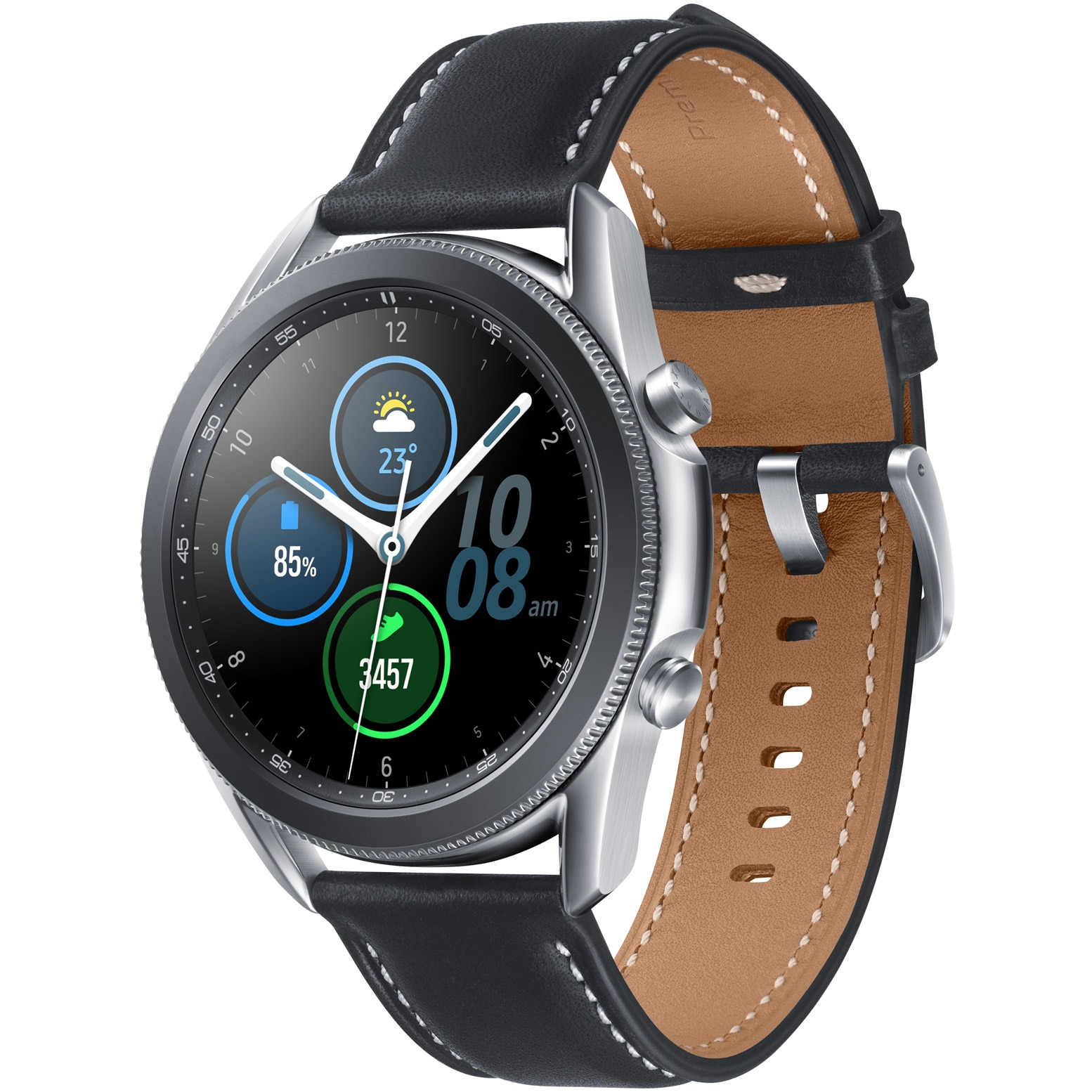 Fotografie Ceas smartwatch Samsung Galaxy Watch3, 45mm, Silver