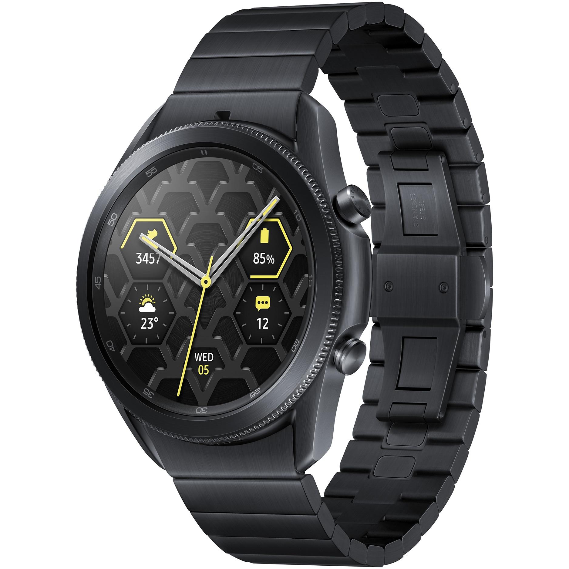 Fotografie Ceas smartwatch Samsung Galaxy Watch3, 45mm, Titan