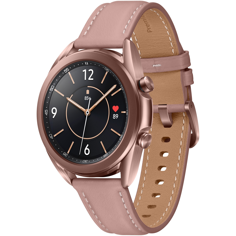 Fotografie Ceas smartwatch Samsung Galaxy Watch3, 41mm, Gold
