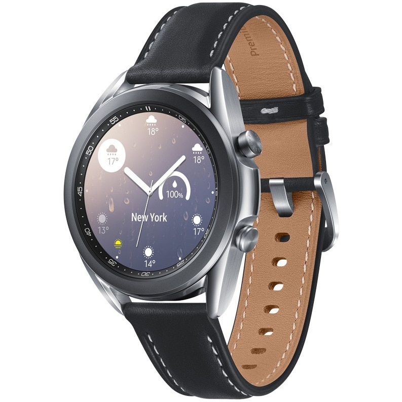 Fotografie Ceas smartwatch Samsung Galaxy Watch3, 41mm, Silver
