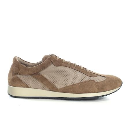 Pantofi casual de piele Maximmillian,Tom Bej,44