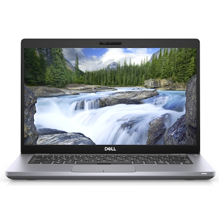 Лаптоп Dell Latitude 5410 с Intel Core i7-10610U (1.8/4.9GHz, 8 M), 8 GB, 500GB M.2 NVMe SSD, Intel UHD Graphics, Ubuntu, сив