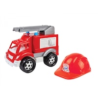 Masina de Pompieri cu Casca , 36 × 34 × 18.5 cm