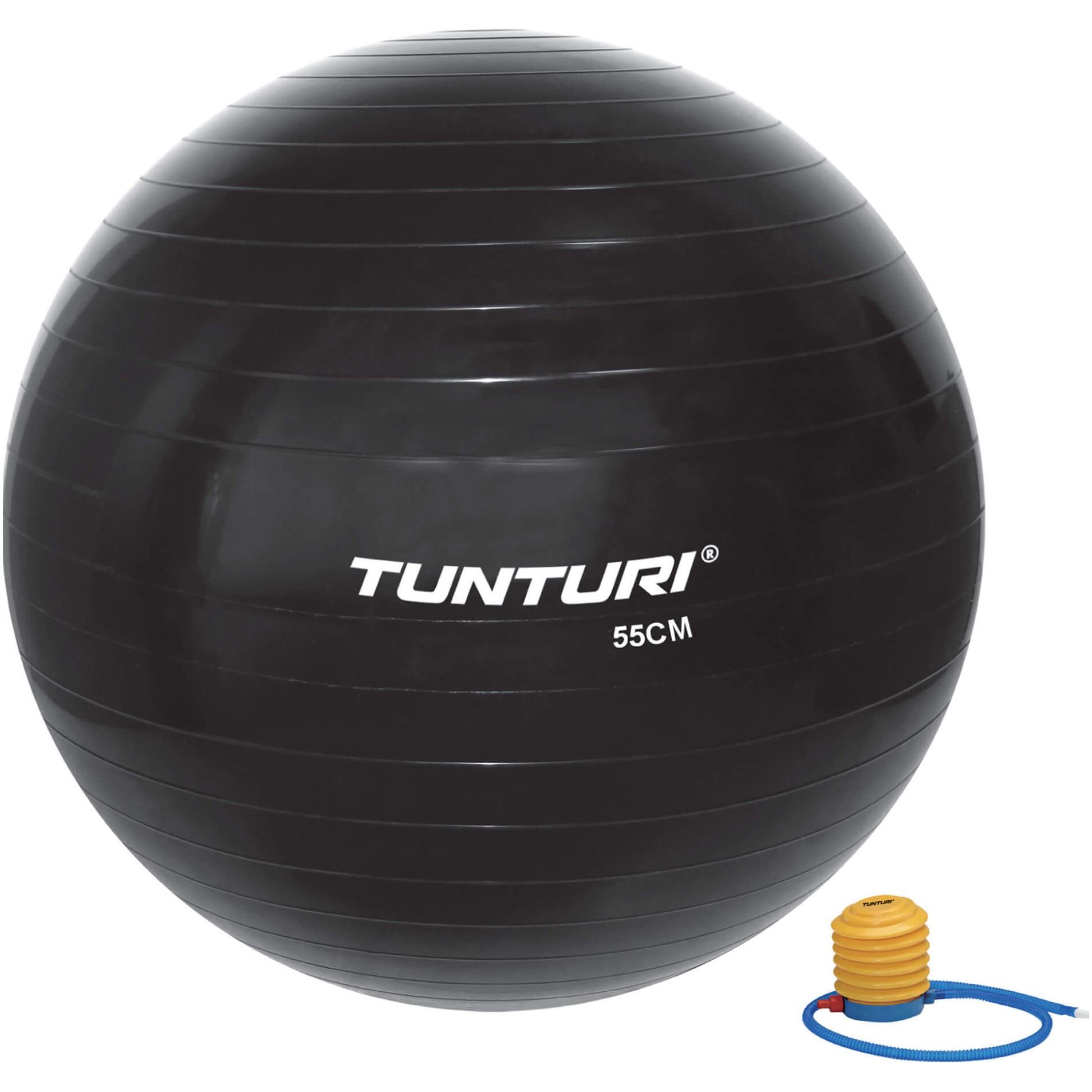 Fotografie Minge fitness Tunturi, 55cm, negru