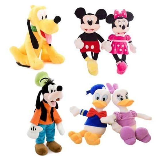 Set Jucarii Din Plus Clubul Lui Mickey Mouse Pentru Copii Cu Varsta Peste 1 An Multicolor Emag Ro