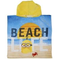 Пончо Adventa , Minions Beach , 100% Памук , 290 гр , 50 x 100 cm