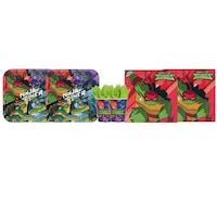 Set 6 accesorii petrecere, Procos, Testoasele Ninja, Multicolor