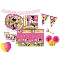 Set 18 accesorii petrecere, Procos, Minnie Mouse, Multicolor
