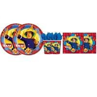 Set 6 accesorii petrecere, Decorata party, Pompierul Sam, Multicolor