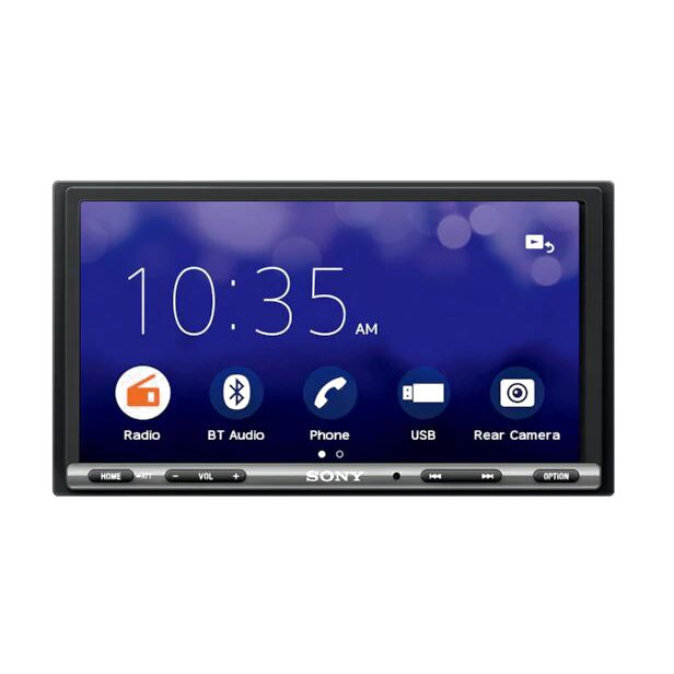 Fotografie Multimedia Player auto SONY XAV-3500, Ecran tactil de 17.6 cm, EXTRA BASS, Bluetooth, 4 x 55 W, WebLink Cast