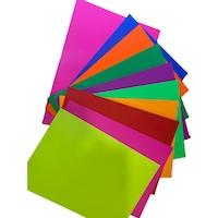 set hartie colorata