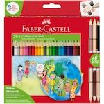 Faber-Castell Children of The World Színes ceruza, 24 + 3 szín