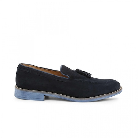 Pantofi barbati, Made in Italia, 1001_CAMOSCIO, Bleumarin, 42