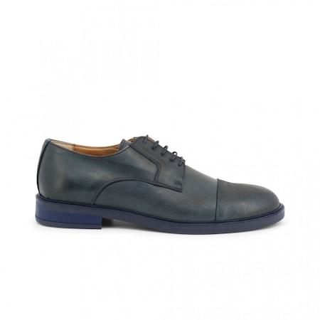 Pantofi barbati, Made in Italia, 605_PELLE, Bleumarin, 41