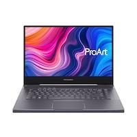 """Asus ProArt StudioBook Pro W500G5T-HC004T 15,6"""" UHD laptop, Intel Core i7-9750H, 32GB, 1TB SSD, RTX 5000 16GB, Windows 10, Magyar billentyűzet, Szürke"""