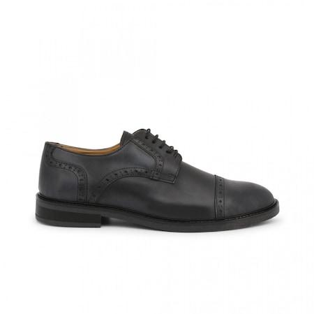 Pantofi barbati, Made in Italia, 607_PELLE, Negru, 44