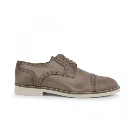 Pantofi barbati, Made in Italia, 607_PELLE, Bej, 39