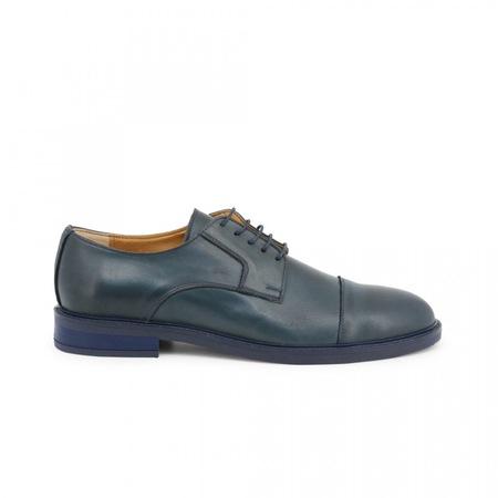 Pantofi barbati, Made in Italia, 604_CRUST, Bleumarin, 39