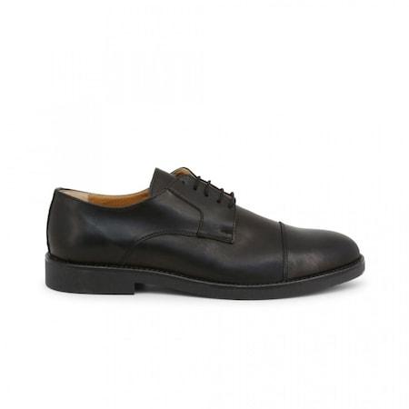 Pantofi barbati, Made in Italia, 605_CRUST, Negru, 45