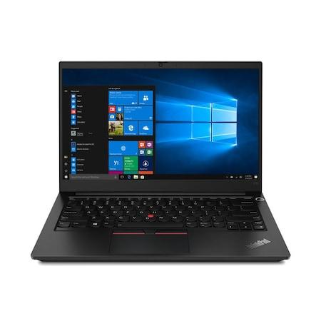 Лаптоп Lenovo ThinkPad E14 с AMD Ryzen 5 4500U (2.3/4.0GHz, 8M), 16 GB, 256GB M.2 NVMe SSD, AMD Radeon Vega 6, Windows 10 Pro 64-bit, черен