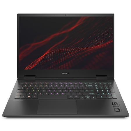 Лаптоп HP Omen 15-ek0004nu с Intel Core i7-10750H (2.6/5GHz, 12M), 16 GB, 2 TB M.2 NVMe SSD, NVIDIA GTX 1660 Ti 6GB GDDR6, Windows 10 Home 64-bit, черен