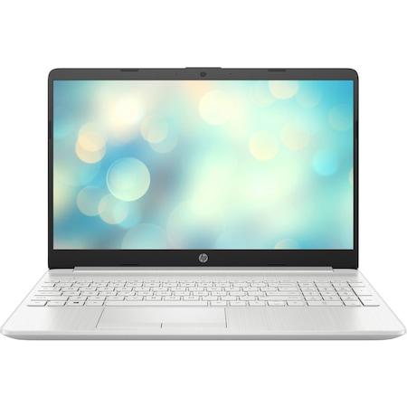Лаптоп HP 15-dw2028nu с Intel Core i3-1005G1 (1.2/3.4 GHz, 4M), 16 GB, 1TB SATA 5400rpm, 500GB M.2 NVMe SSD, Intel UHD Graphics, Free DOS, сребрист
