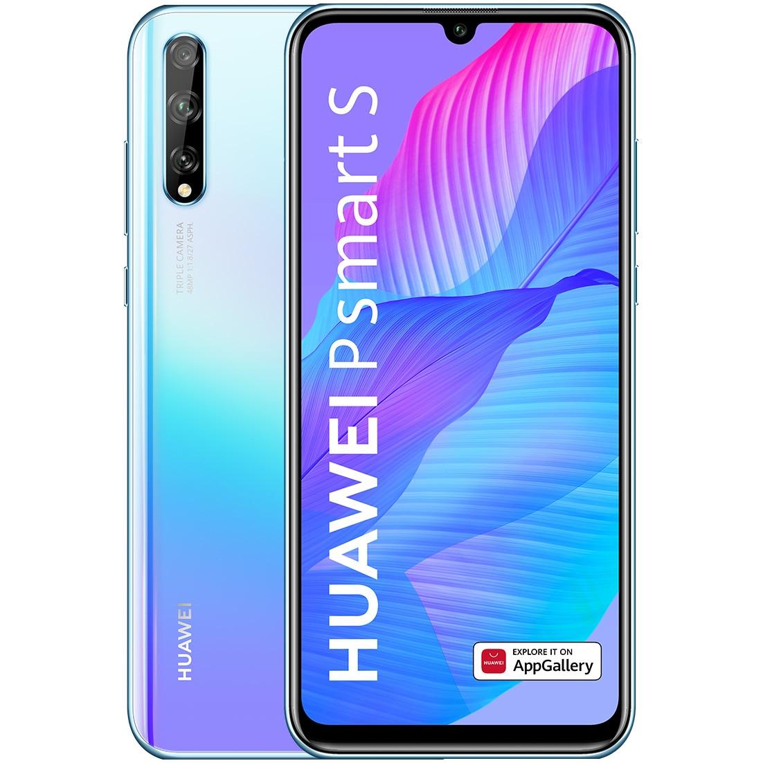 Fotografie Telefon mobil Huawei P Smart S, Dual SIM, 128GB, 4G, Breathing Crystal
