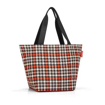 Reisenthel Shopper M glencheck red női táska