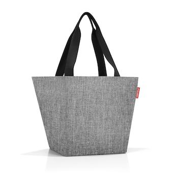 Reisenthel Shopper M twist silver női táska