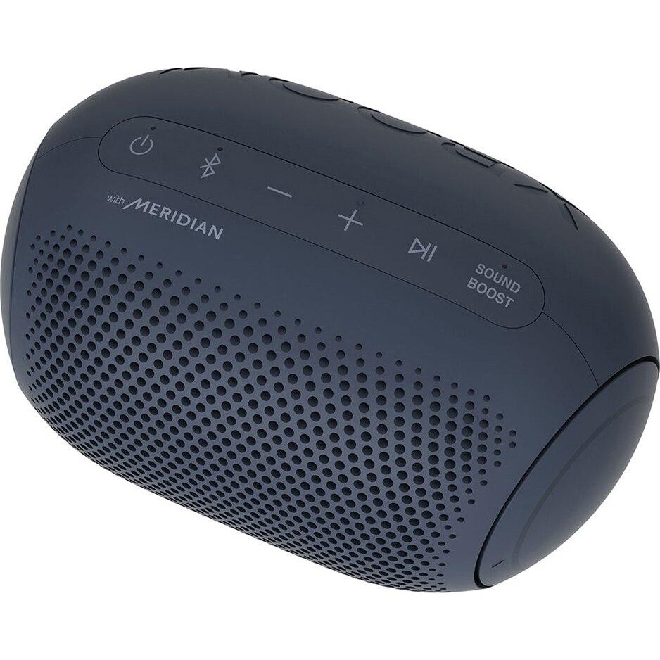 Fotografie Boxa portabila LG XBOOM Go PL2, Bluetooth, Waterproof, negru