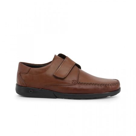 Pantofi barbati, Made in Italia, 721_PELLE, Maro, 43
