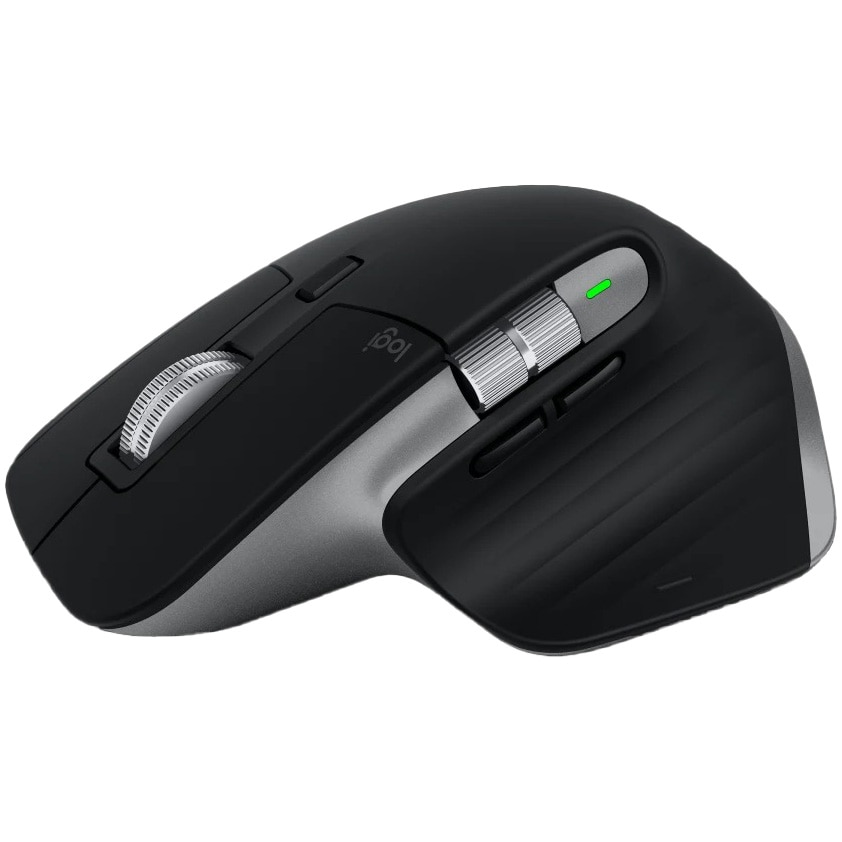 Fotografie Mouse wireless Logitech MX Master 3 for Mac, Bluetooth, Multidevice, compatibil MacOS & iOS, Space Grey