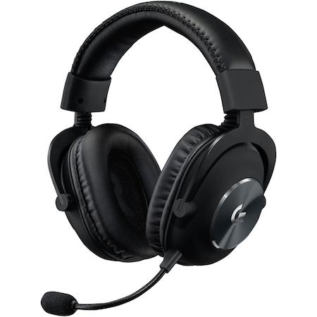 Слушалки Gaming Безжични Logitech G PRO X, Surround 7.1, 2.4GHz LightSpeed, Функция BLUE VO!CE, Черен