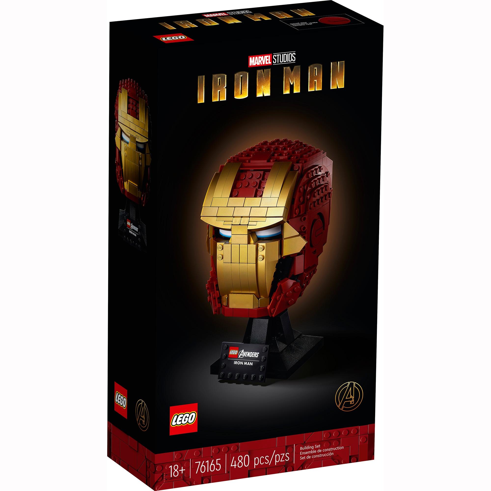 Fotografie LEGO Super Heroes - Casca Iron Man 76165, 480 piese