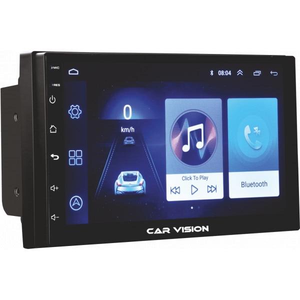 "Fotografie Sistem multimedia Car Vision, Android Auto, display tactil 7"" Gorilla Glass; Bluetooth 4.0; USB 2.0; intrare camera marsarier; 2GB RAM, memorie interna 32GB; MirrorLink"