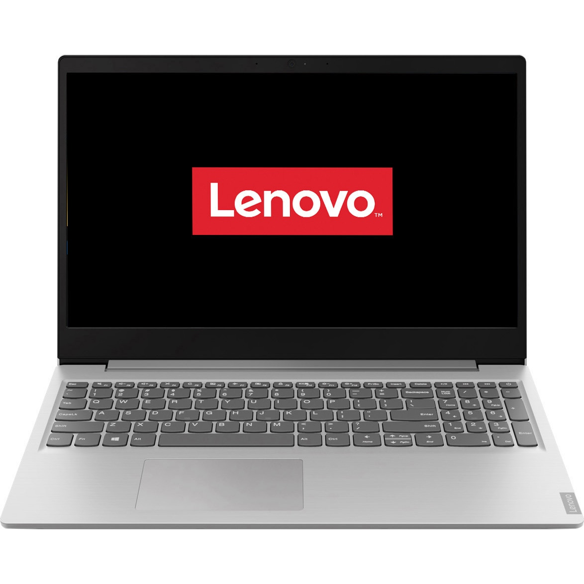 "Fotografie Laptop Lenovo ideapad S145-15AST cu procesor AMD A4-9125, 15.6"" HD, 4GB, 128GB SSD, AMD Radeon™ R3 Graphics, FreeDOS, Platinum Grey"