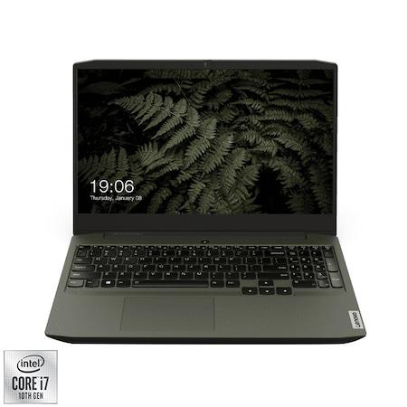 "Лаптоп Gaming LENOVO IdeaPad Creator 5 15IMH05, 15.6"", Intel® Core™ i7-10750H, RAM 16GB, SSD 256GB, HDD 1TB, NVIDIA® GeForce® GTX 1650 4GB, FreeDOS, Dark Moss"